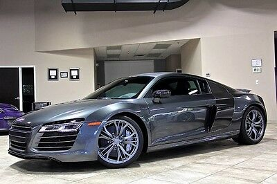 2014 Audi R8 Plus Coupe 2-Door 2014 Audi R8 V10 Plus Quattro Coupe $186k+ MSRP! Bang & Olufsen Sound! Stunning!