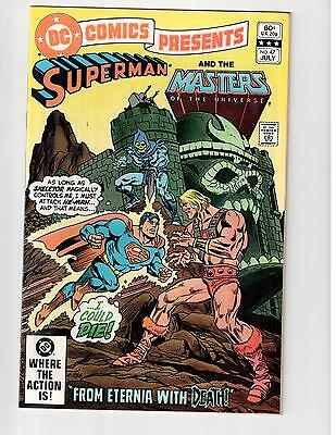 Dc Comics Presents 47 1St He-Man Hard To Find Superman Cover High Grade 8.5