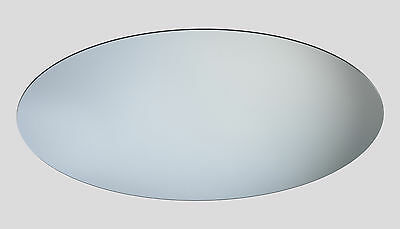 Oval Shaped Decorative Acrylic Mirror, Home Accessory, Bedroom Mirror