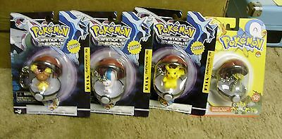 Pokemon figures 4 in all new and unopened
