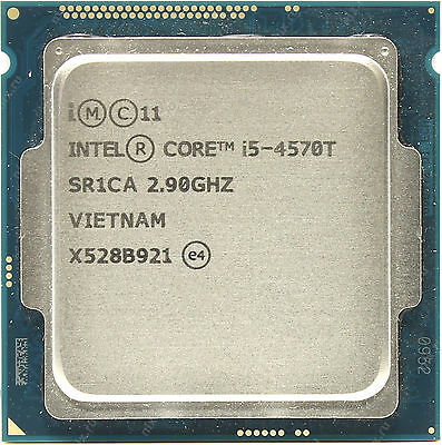 cpu Intel I5 4570t 2,9 ghz / 3,6 ghz- haswell  support 1150 version bulk- oem