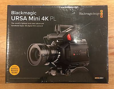 Blackmagic URSA Mini 4K PL Digital Film Camera