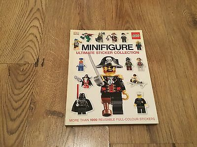 LEGO Minifigure Ultimate Sticker Collection by DK less than 50 used.