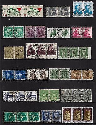 INDIA - mixed collection, joined pairs & strips No.15