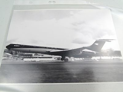 BOAC G-ASGE AIRLINES SUPER VC10 AIRPLANE CRAFT PHOTOGRAPH PHOTO PICTURE 1960s