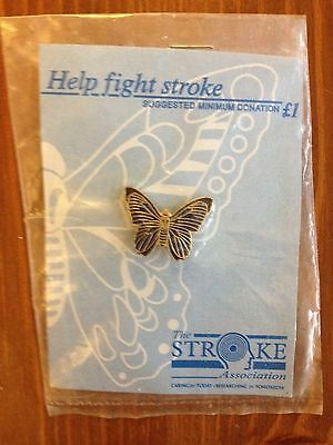 Charity badge Help fight Stroke