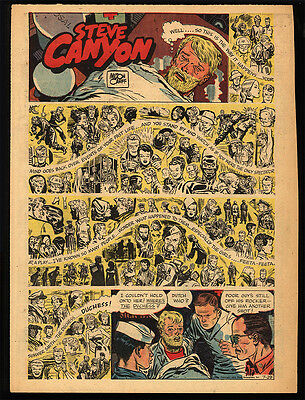 STEVE CANYON by Milton Caniff 1947 - 1972 (147 Sunday pages)