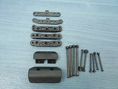 Nitro 1/8 Rc Buggy Hyper 7 Tq2 Suspension Arm Holder Set New