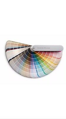 New- Sherwin Williams Color Fan Deck