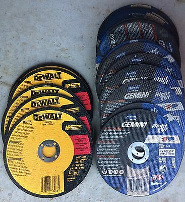 "(LOT OF 23) Dewalt & Norton Type 1 Metal & Stainless 6"" Cut-Off Wheels"