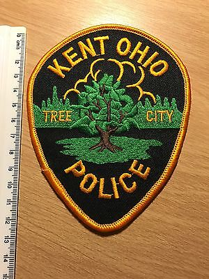 Police Patch - Kent Police, Ohio, Usa