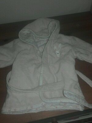 Mothercare Dressing Gown Size Small Baby Girl Opto 6 Months