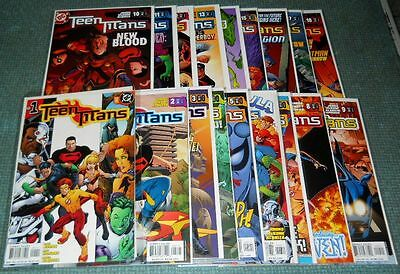 (2003) Teen Titans #1-54 Plus Extras!!! Complete Geoff Johns Run!!!