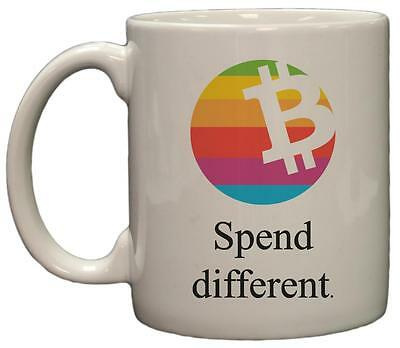 Bitcoin Spend Different Parody 11oz Coffee Mug