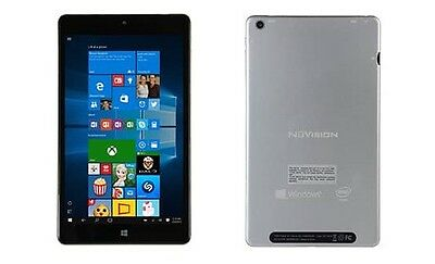 NuVision 8-inch Windows 10 Tablet