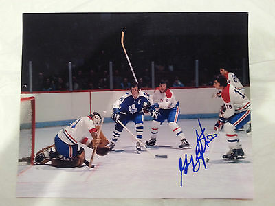 Guy Lapointe Montreal Canadiens signed 8x10 Action photo (HOF)