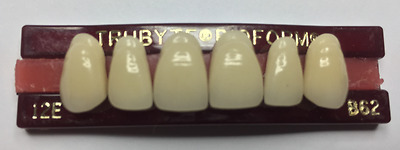 Large Selection of NEW Dentsply Trubyte Bioform Porcelain Anterior Upper & Lower