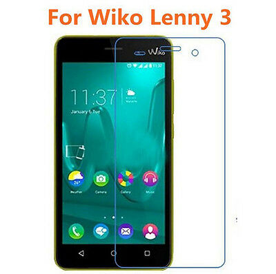 100xPremium HD Clear Tempered Glass Screen Protector Film Guard For WIKO LENNY 3