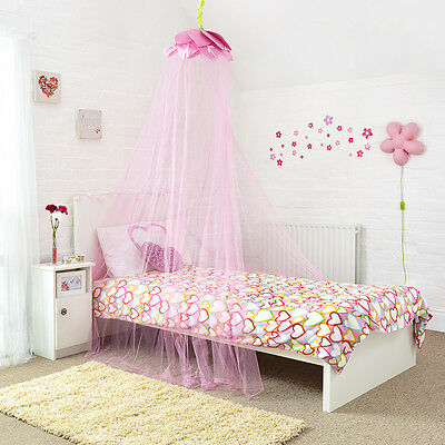 Fairytale Pink Petal Bed Canopy