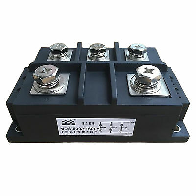 MDS500-16 3-Phase Bridge Rectifier Diode 500A Amp 1600V