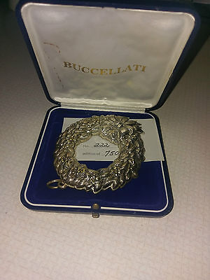 Buccellati Sterling Silver Christmas Ornament Limited Edition