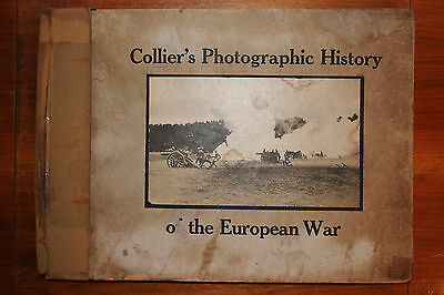COPYRIGHT 1915 COLLIER'S PHOTOGRAPHIC HISTORY of the EUROPEAN WAR WWI NAVY SHIPS
