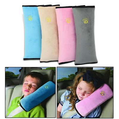 Cushion Vehicle Car Seat Belt Baby Kid Shoulder Pad Cover Pillow Head Support CM