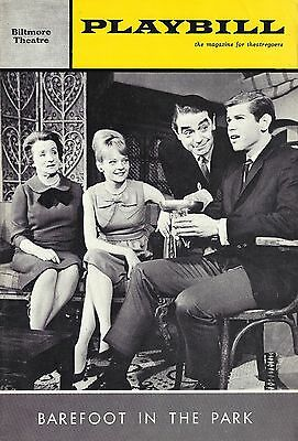 """Anthony Roberts """"BAREFOOT IN THE PARK"""" Penny Fuller / Neil Simon 1965 Playbill"""