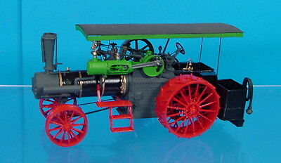 TM- O/On3/On30 1/48 PROFESSIONALLY BUILT WISEMAN J.I. CASE STEAM TRACTION ENGINE