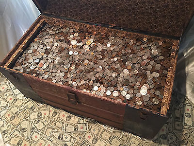 Old Estate Sale Lot Silver Coins .999 Gold Bullion Us Collection Money Set Hoard