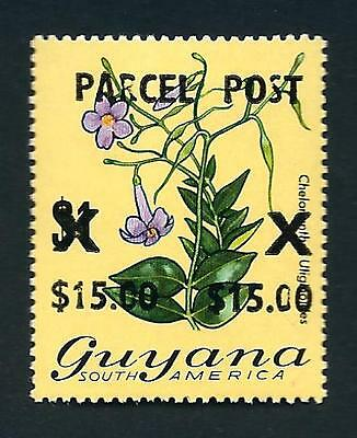 Guyana Stamp: MNH $15 on $1 Surcharged Parcel Post (Sc.# Q1)