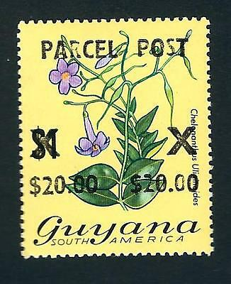 Guyana Stamp: MNH $20 on $1 Surcharged Parcel Post (Sc.# Q2)