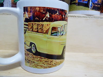 """300ml COFFEE MUG, EARLY HOLDEN UTE """"ON THE FARM"""" & THE NEW HOLDENS"""