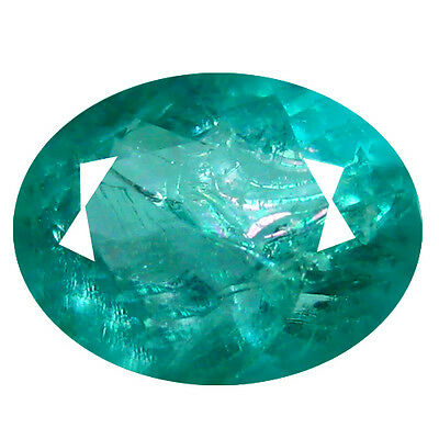 1.14Ct World class Oval Cut 8 x 6 mm Pariaba Blue Color Apatite