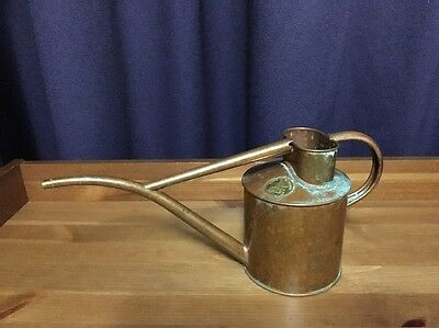 Vintage Haws Copper Watering Can Garden Made England
