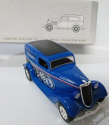 SpecCast 1934 Ford Cornwell Tools Racing Model 14017 Die Cast Collector Blue NIB