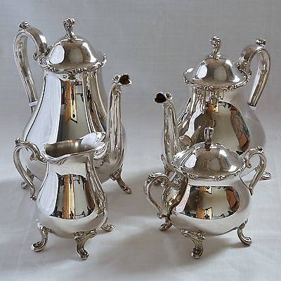 Rodd Silver Tea & Coffee Set - 4 pieces - As New - Never Used