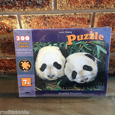 GARY FLEMING ( PANDA) 300 PIECE JIGSAW PUZZLE * NEW SEALED *Ages  7+