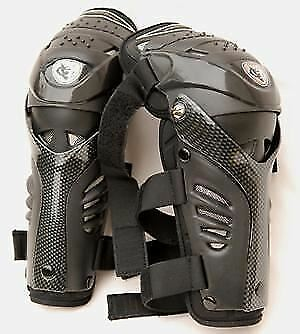 New Wulfsport Adult Motocross Racing Protective Hinged Knee Pads Shin Guards
