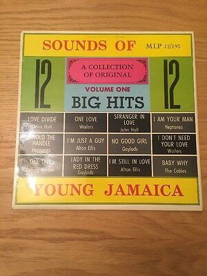 Reggae LP Sounds Of Young Jamaica Melodic