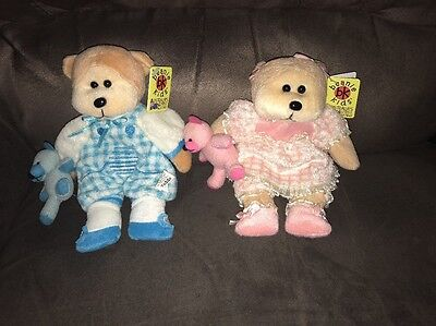 Beanie Kid/Kids - Toddle And Tot The Bear - Retired With Tag