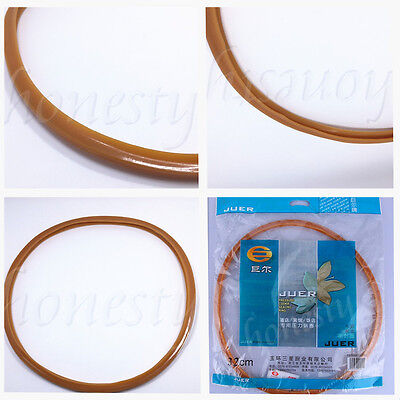 Replacement Silicone Rubber Orange Gasket Sealing Ring Home Pressure Cooker