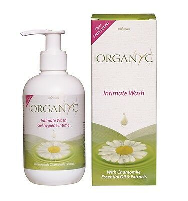 ORGANYC ORGANIC FEMININE INTIMATE WASH with CAMOMILE OIL & EXTRACT - VEGAN