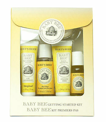 Burt`s Bees Baby Bee Getting Started Kit - From Cleansing To Mouisturising