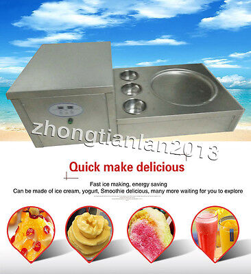 fastest delivery fried ice cream machine for milk,yogurt with temperature button