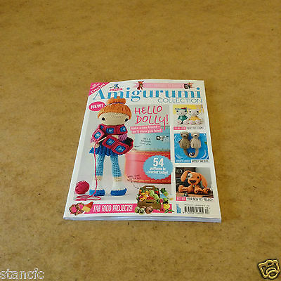 Get Into Craft Amigurumi Collection 2017 New 54 Patterns Critters People Food