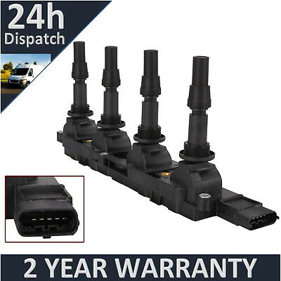 Ignition Coil Pack For Vauxhall Zafira A / Astra H G / Vectra B C 1.8 16V