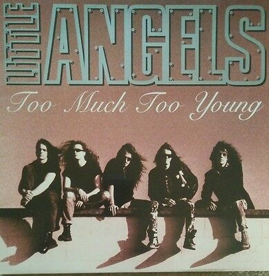 """Little Angels - """"Too Much Too Young"""" 12"""" inch single"""