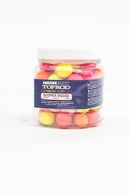 Nash Bait Rainbow Pop Ups *All sizes and Flavours*