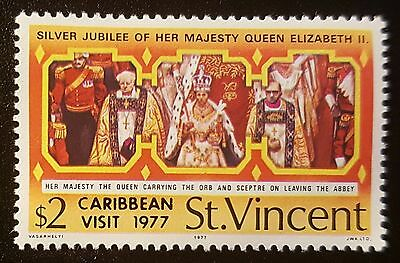 ST.VINCENT SG540 1977 ROYAL VISIT MNH (No589)